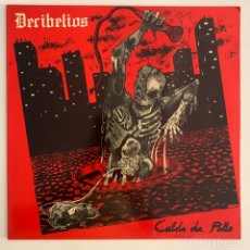 Discos de vinilo: LP DECIBELIOS CALDO DE POLLO DE 1984. Lote 294850388