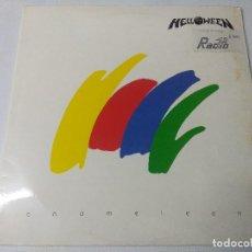 Discos de vinilo: HELLOWEEN/CHAMELEON/VINILO METAL DOBLE GATEFOLD.. Lote 294851133