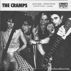 "Discos de vinilo: THE CRAMPS TEENAGE WEREWOLF (7"") . VINILO ROCKABILLY GARAGE PUNK ROCK AND ROLL. Lote 294852478"