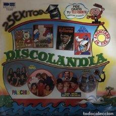 Discos de vinilo: DISCOLANDIA - PARCHIS -GRUPO NINS - REGALIZ - GABY, MILIKI, FOFITO Y MILIKITO. Lote 294853038