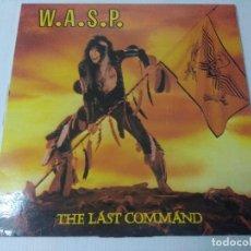 Discos de vinilo: WASP/THE LAST COMMAND/VINILO METAL.. Lote 294857113