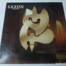 Discos de vinilo: SAXON/DESTINY/VINILO METAL.. Lote 294857708