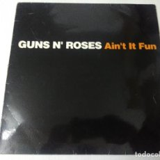 Discos de vinilo: GUNS N' ROSES/AIN'T IT FUN/VINILO MAXI METAL.. Lote 294858223