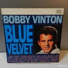 Discos de vinil: DISCO VINILO LP. BOBBY VINTON – BLUE VELVET. 33 RPM. Lote 294859448