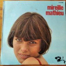 Discos de vinilo: MIREILLE MATHIEU. LA PREMIERE ETOILE/ UNE SIMPLE LETTRE/ AU BAL DU GRAND AMOUR +1. EP FRANCIA 1969. Lote 294862733