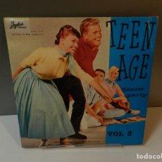 Discos de vinilo: DISCO VINILO LP. ELIOTT BROS, PATTY ANDREWS, JACK HAMMER – TEEN AGE DANCE PARTY VOL 3. 33 RPM. Lote 294866683