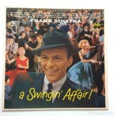 Discos de vinilo: FRANK SINATRA – A SWINGIN' AFFAIR , HOLANDA 1984 CAPITOL RECORDS. Lote 294867888