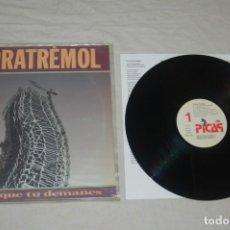 Discos de vinilo: TERRATRÈMOL - EL FOC QUE TU DEMANES. Lote 294915578