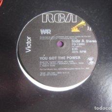 Discos de vinilo: WAR – YOU GOT THE POWER/ 5 DE MAYO - MAXI SINGLE RCA 1982 - FUNK SOUL DISCO 80'S - DJ USO. Lote 294918018