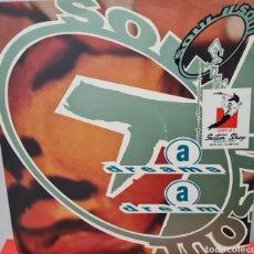 Discos de vinilo: MAXI - SOUL II SOUL - A DREAMS A DREAM - UK 1990. Lote 294931883