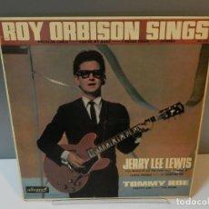 Discos de vinilo: DISCO VINILO LP. ROY ORBISON, JERRY LEE LEWIS & TOMMY ROE – ROY ORBISON SINGS. 33 RPM. Lote 294931943