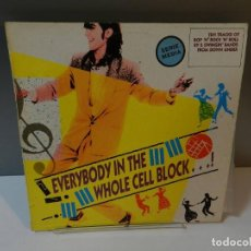 Discos de vinilo: DISCO VINILO LP. THE JAGUARS, THE STRAIGHT 8'S – EVERYBODY IN THE WHOLE CELL BLOCK...! 33 RPM. Lote 294932823