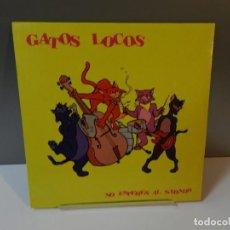 Discos de vinilo: DISCO VINILO LP. GATOS LOCOS – NO ESPERES AL SÁBADO. 33 RPM. Lote 294933993