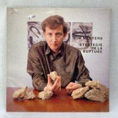 Discos de vinilo: LP - VINILO WIM MERTENS - STRATEGIE DE LA RUPTURE - ESPAÑA - AÑO 1991. Lote 294934178