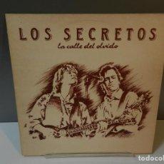 Discos de vinilo: DISCO VINILO LP. LOS SECRETOS – LA CALLE DEL OLVIDO. 33 RPM. Lote 294934193