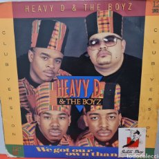Discos de vinilo: MAXI - HEAVY D & THE BOYZ - WE GOT OUR OWN THANG - USA 1989. Lote 294934593