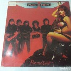 Discos de vinilo: ANGELES DEL INFIERNO/PACTO CON EL DIABLO/VINILO METAL.. Lote 294934788