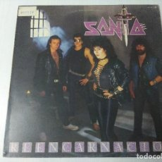 Discos de vinilo: SANTA/REENCARNACION/VINILO METAL.. Lote 294935228
