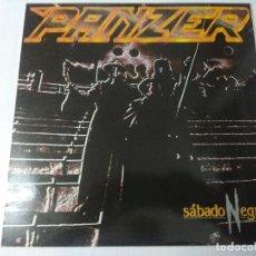 Discos de vinilo: PANZER/SABADO NEGRO/VINILO METAL.. Lote 294936593