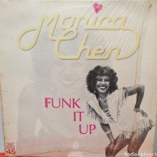 Discos de vinilo: MAXI - MONICA CHEN - FUNK IT UP - ESPAÑA 1983. Lote 294936673