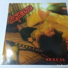 Discos de vinilo: ANTITODO/OBJETO SEXUAL/VINILO METAL.. Lote 294937123
