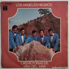 """Discos de vinilo: LOS ANGELES NEGROS -YVOLVERE 7"""" ED ESPAÑOLA 1970. Lote 294937558"""