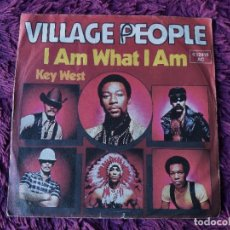"Discos de vinilo: VILLAGE PEOPLE – I AM WHAT I AM , VINILO, 7"" SINGLE 1989 GERMANY 6.12 418. Lote 294940148"