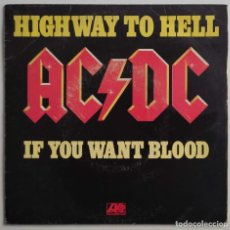 """Discos de vinilo: AC/DC - HIGHWAY TO HELL / IF YOU WANT BLOOD (YOU'VE GOT IT) 7"""" 1980 PORTADA UNICA FRANCESA -METAL. Lote 294941523"""