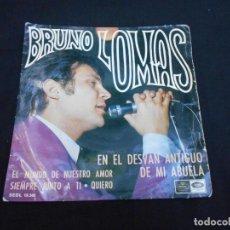 Discos de vinilo: BRUNO LOMAS // EN EL DESVAN ANTIGUO DE MI ABUELA + 3 //. Lote 294942828