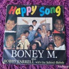 "Discos de vinilo: BONEY M.– HAPPY SONG , VINILO, 7"" SINGLE 1984 GERMANY 106 909-100. Lote 294943833"