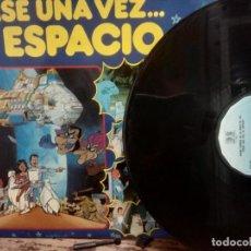 Discos de vinilo: BANDA SONORA DE LA SERIE DE TVE -ERASE UNA VEZ EL ESPACIO -PARCHIS-LOS PILLOS -QUIQUE -LOS CHIQUITIN. Lote 294944463