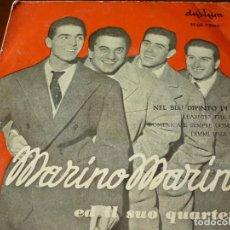 Discos de vinilo: MARINO MARINI Y SU CUARTETO SINGLE 45 RPM- AÑOS 60. Lote 294944703