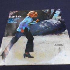 Discos de vinilo: KARINA // ROMEO Y JULIETA + 3 // EDICION PORTUGAL. Lote 294946213