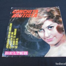 Discos de vinilo: CONCHITA BAUTISTA // JUUGANDO CON MI CORAZON + 3. Lote 294946433