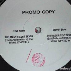 "Discos de vinilo: D'MIXMASTERS – THE MAGNIFICENT SEVEN.1990.MEAL POWER – MP 875467/30.(12""PROMO).NUEVO.MINT/GENERICA. Lote 294946513"