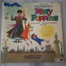 Discos de vinilo: MARNI NIXON, RICHARD M. SHERMAN & BILL LEE (4) – SONGS FROM WALT DISNEY'S MARY POPPINS. Lote 294946863