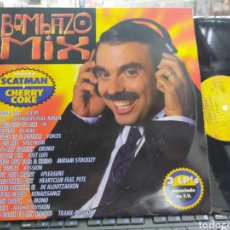 Discos de vinilo: BOMBAZO MIX TRIPLE LP 1995 CARPETA DOBLE. Lote 294948473