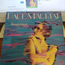 Discos de vinilo: PAUL MAURIAT. TRANSPARENCIA. EDICIÓN POLYGRAM DE 1985.. Lote 294949478
