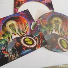 Discos de vinilo: IRON MAIDEN. 12 SINGLE. PICTURE DISC. OUT OF THE SILENT PLANET. EDICIÓN ORIGINAL EU DEL 2000. Lote 294951703