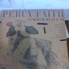 Discos de vinilo: PERCY FAITH. SUMMER PLACE 76. EDICIÓN CBS DE 1975.. Lote 294952178