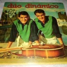 Discos de vinilo: DUO DINAMICO-BAILANDO TWIST-ME GUSTA EL TWIST-ORIGINAL AÑO 1962-EN BUEN ESTADO. Lote 294957353