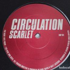 """Discos de vinilo: CIRCULATION – PINK SELLO: CIRCULATION – CMP 007 FORMATO: VINYL, 12"""".NUEVO. MINT NEAR MINT. Lote 294958268"""
