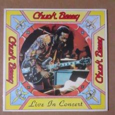 Discos de vinilo: CHUCK BERRY. LIVE IN CONCERT. 2LP. GATEFOLD. 1978 GERMANY. 320 07 007. DISCO Y CARÁTULA VG+. Lote 294958303