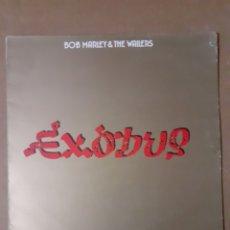 Discos de vinilo: BOB MARLEY. EXODUS. 1990 (1977) EUROPA. REMASTERIZADO. TGLLP6. DISCO VG++. CARÁTULA VG.. Lote 294958868