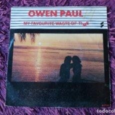 "Discos de vinilo: OWEN PAUL – MY FAVOURITE WASTE OF TIME , VINILO, 7"" SINGLE 1986 HOLLAND A 7125. Lote 294959153"