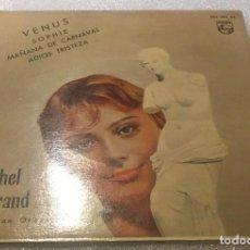 Discos de vinilo: EP MICHEL LEGRAND Y SU GRAN ORQUESTA - VENUS Y OTROS TEMAS - PHILIPS 432.395BE -PEDIDO MINIMO 7€. Lote 294960138