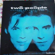 """Discos de vinilo: TWO PEOPLE – RESCUE ME = RESCATAME.1985. SELLO: POLYDOR – 881 619-1. (12""""), NUEVO. MINT / NEAR MINT. Lote 294960153"""