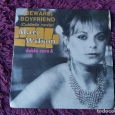 """Discos de vinilo: MARI WILSON – (BEWARE) BOYFRIEND, VINILO, 7"""" SINGLE 1983 SPAIN 9-09 012. Lote 294961338"""