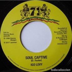 """Discos de vinilo: IGO LEVY - SOUL CAPTIVE - 7"""" [JAMWAX, 2017] ROOTS REGGAE DUB. Lote 294962648"""