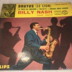 Discos de vinilo: EP BILLY NASH ROCK BAND - BRUTUS LE LION Y OTROS TEMAS - PHILIPS 424.274PE -PEDIDO MINIMO 7€. Lote 294962753